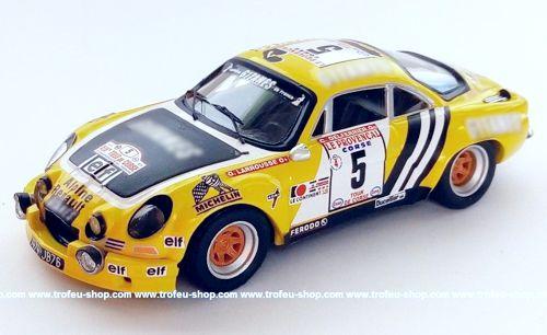Ford Escort RS 1600 Mk I-chasseuil bp Tour de Corse 1973-1:43 Trofeu LMA 10