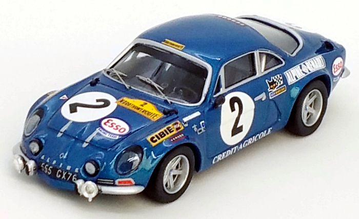 Fall Rallye Tour de France Automobile 1971 1:43 Trofeu 1726 BMW 2002 Ti